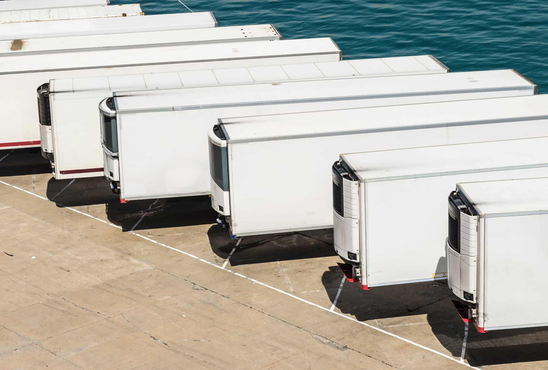 Cold Storage Reefer Trailers, Refrigerated Trailer Rental